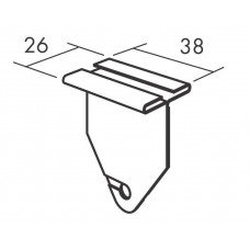 Connect Light fitting clip, Белый01