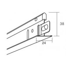 Главная направляющая Connect T24  HD 7115, Серый 01 металлик