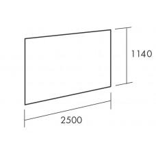 Вертикальная пластина 0821, Белый 01